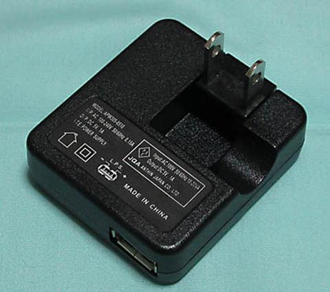 AC-USBアダプタ 1A(PSE付)