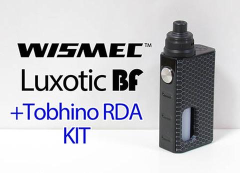 Wismec Luxotic BF BOX MOD + Tobhino RDA kit Black