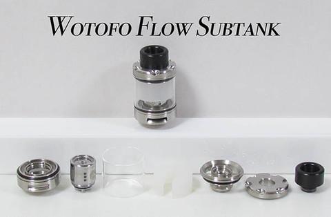 Wotofo Flow Subtank Atomizer 4ml/2ml 24mm