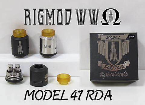 Model 41 RDA by Rig MOD WW 25mm
