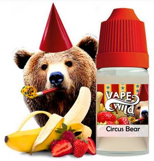 [Circus Bear] VapeWild eLiquid 60ml (PreSteep)