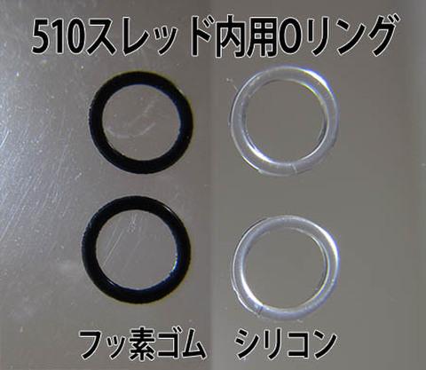 510スレッド内用Oリング 2個セット