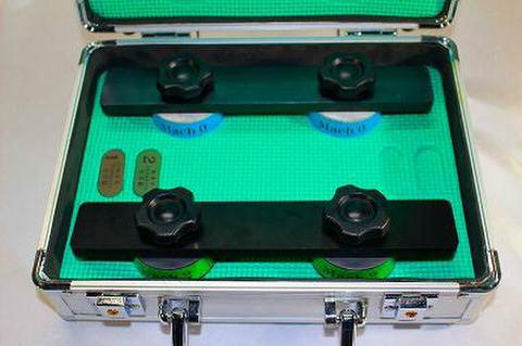 NSK工業スピードスケートダイヤ砥石アルミケースセット NO 0.2  (税抜き53000円 税5300円)