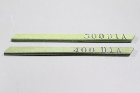 #400#500 焼結ダイヤモンドスティック砥石 ダイヤ★キラリンスティックエコノミー #400,#500 2本  3×6×93