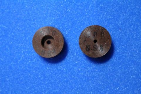 15パイ 6mm幅 #300    リューター、ルーター、研磨用レジン焼結ダイヤモンド砥石(湿式用)2個セット 穴径1.8ミリ