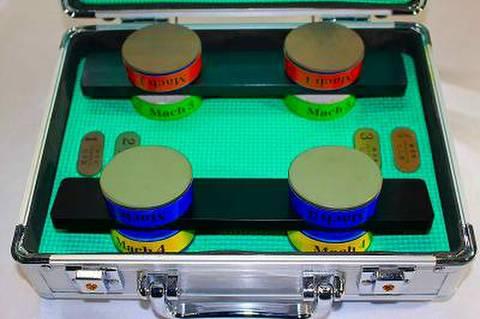 スケートダイヤ砥石Mach4本セット 1,3,4,5  (税抜き88000円 税8800円)