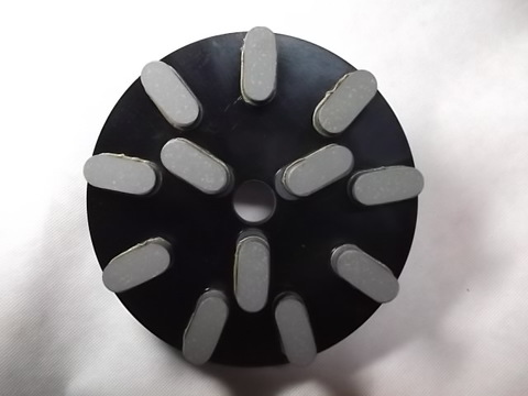 8インチ(200ミリ)#500 S5 石材用レジンダイヤモンド研磨盤  (税抜き16000円 税1600円)