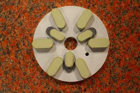 6インチ(150ミリ)#1500 S5  石材用レジンダイヤモンド研磨盤 (税抜き12500円 税1250円)