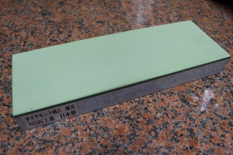 受注生産品 3寸3分幅ダイヤモンド角砥石 #1500 極刃 幅広サイズ大 W100ミリ×H33.5ミリ(ダイヤ層3.5mm)×L290ミリ