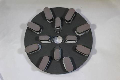 8インチ(200ミリ)#400 S3 8刃4刃タイプ レジンダイヤモンド研磨盤  (税抜き18000円 税1800円)