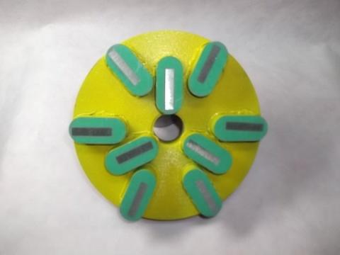 石材用メタル研磨盤  150ミリ 200 Z5  レジ巻きタイプ  (税抜き17000円 税1600円)