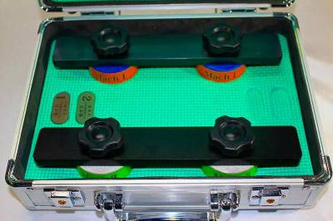 NSK工業スピードスケートダイヤ砥石アルミケースセット NO1.3  (税抜き53000円 税5300円)