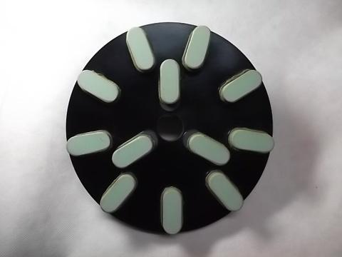 8インチ(200ミリ)#2000 S5 石材用レジンダイヤモンド研磨盤 (税抜き16000円 税1600円)