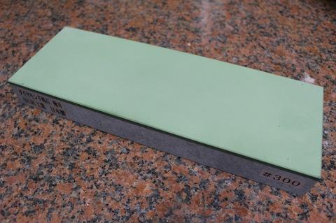 受注生産品 3寸3分幅ダイヤモンド角砥石 #300 極刃 幅広サイズ大 W100ミリ×H33.5ミリ(ダイヤ層3.5mm)×L290ミリ