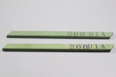 #200#300 焼結ダイヤモンドスティック砥石 ダイヤ★キラリンスティックエコノミー #200,#300 2本  3×6×93