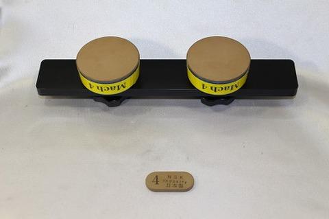 Mach4 アルミハンドル,サイドストン付きセット スケートダイヤモンド砥石  (税抜き26000円 税2600円)
