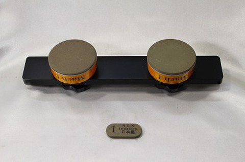 Mach1 アルミハンドル,サイドストン付きセット スケートダイヤモンド砥石 (税抜き26000円 税2600円)