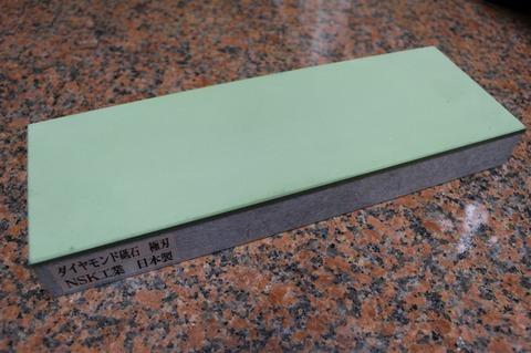 受注生産品 3寸3分幅ダイヤモンド角砥石 #1000 極刃 幅広サイズ大 W100ミリ×H33.5ミリ(ダイヤ層3.5mm)×L290ミリ