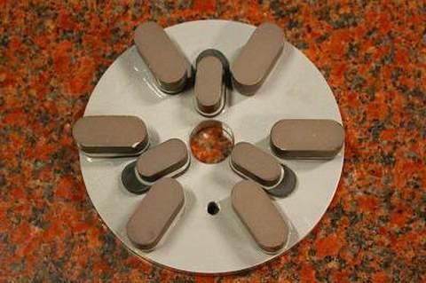 6インチ(150ミリ)#500 S5 石材用レジンダイヤモンド研磨盤 (税抜き12500円 税1250円)