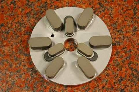 6インチ(150ミリ)#800 S5 石材用レジンダイヤモンド研磨盤 (税抜き12500円 税1250円)