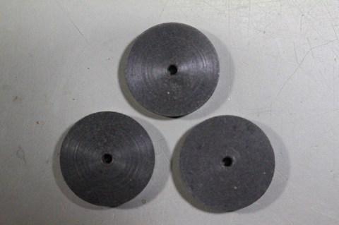 18φ  #150.  リューター、ルーター、研磨用レジン焼結ダイヤモンド砥石(湿式用) 外形18mmタイプ #150. 3個 外形18mm 厚み3mm 穴経1.7mm