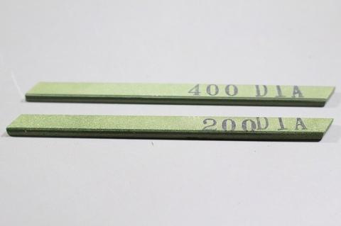 #200#400 焼結ダイヤモンドスティック砥石 ダイヤ★キラリンスティックエコノミー #200,#400 2本  3×6×93