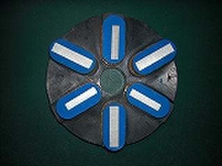 石材用メタル研磨盤     125ミリ #80 Z5   レジ巻きタイプ   (税抜き15000円 税1500円)