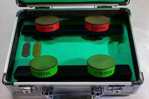 スケートダイヤ砥石Mach4本セット  0,1,3,4  (税抜き86000円 税8600円)