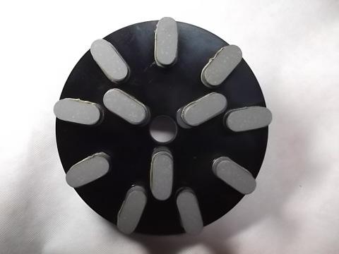8インチ(200ミリ)#800 S5 石材用レジンダイヤモンド研磨盤 (税抜き16000円 税1600円)