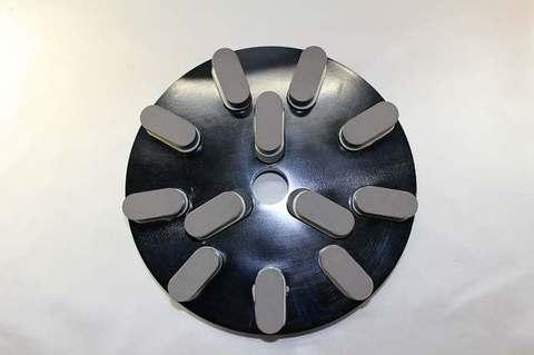 8インチ(200ミリ)#500 S3  石材用レジンダイヤモンド研磨盤   (税抜き18000円 税1800円)
