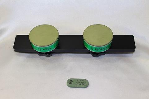 Mach2 アルミハンドル,サイドストン付きセット スケートダイヤモンド砥石 (税抜き26000円 税2600円)