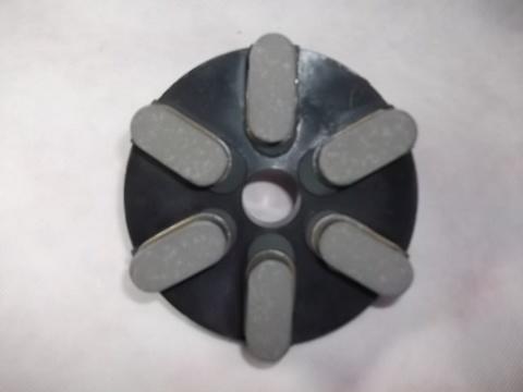 5インチ(125ミリ)#400 S5 石材用レジンダイヤモンド研磨盤 (税抜き11000円 税1100円)