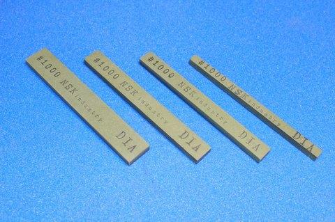 ダイヤモンドスティック砥石 焼結レジンボンド #1000  幅6mm×厚み5mm×長さ100mm