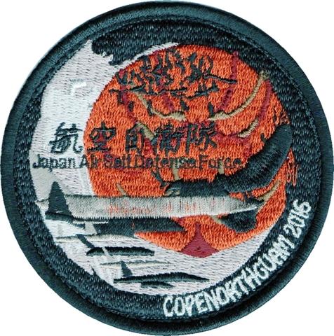 航空自衛隊 コープノースグアム 2016 参加パッチ