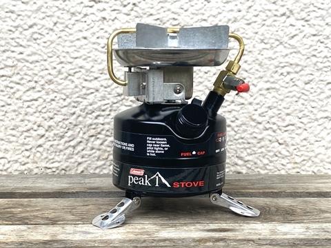【未点火品】コールマン 3024 ピークワンストーブ 01/03製 PEAK1 400の後継モデル シングルバーナー Coleman 廃盤品