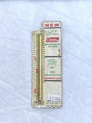 コールマン502ストーブ用ジェネレーター 502-5891 廃盤パッケージ NOS Coleman