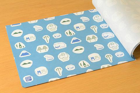 とうや小紋 包装紙帖(A4) HOLIDAY MARKET TOYA×星燈社