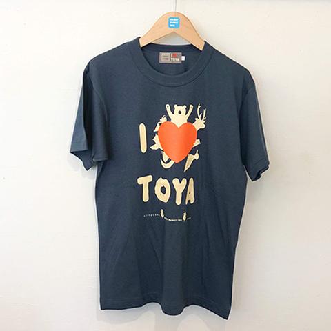 "I LOVE TOYA    JAPAN MADE T-SHIRTS ""LIGHT FIT"" [Midnight lake/navy]"