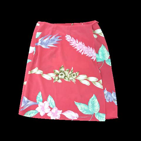 Alba Rosa tropical roll skirt
