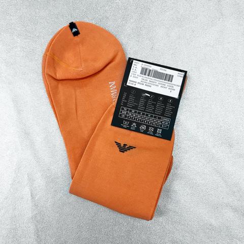 ARMANI orange socks