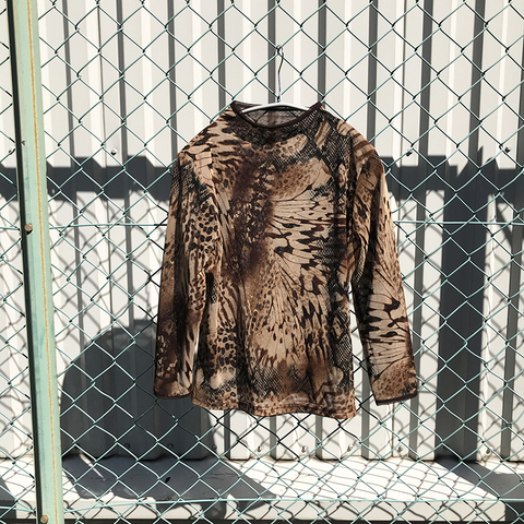 wild patterned tops