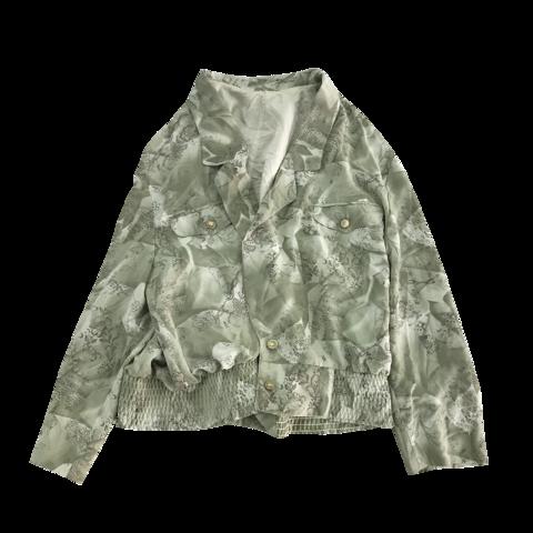 dusty green unisex jacket