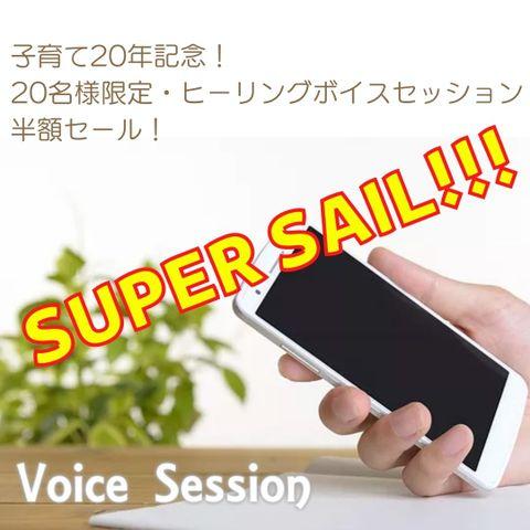【完売御礼!】ヒーリングボイスセッション【半額!】