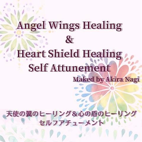 【自己成長&自己防御】天使の翼&心の盾【ペイフォワード商品】
