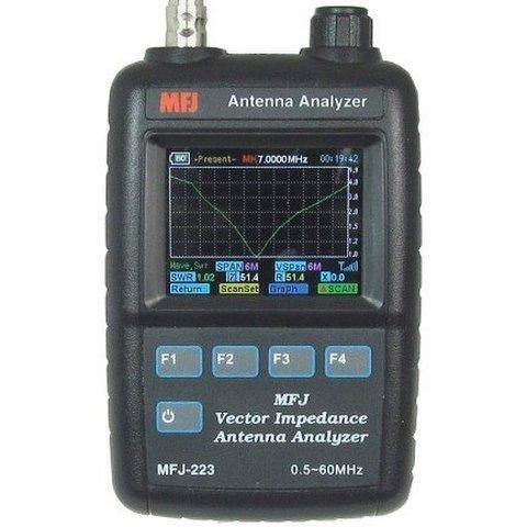 MFJ-223 胸ポケットサイズのカラー表示アンテナアナライザー u
