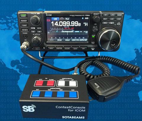 コンテストコンソールBOX ICOM専用 SOTABEAMS コントロールボックス