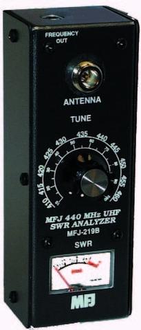 MFJ-219B 420-450MHz UHF専用アンテナアナライザー MFJ-219B