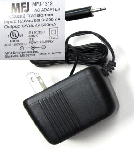 MFJ-1312D 12V電源 MFJアナライザー、チューナーに u