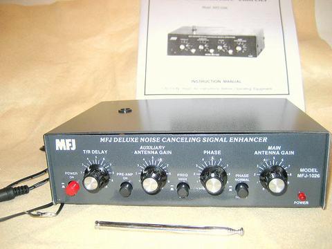 MFJ-1026  ノイズキャンセラー up