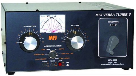 MFJ-989D  アンテナチューナー1.5kWバージョン